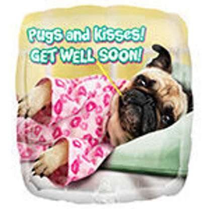 Picture of Get Well Pugs and Kisses