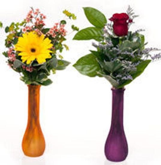 Picture of 1 Rose or 1 Gerbera Vase