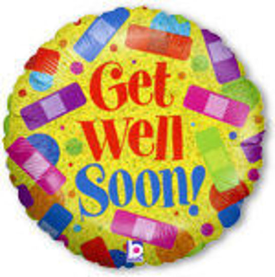 Picture of Get Well Soon Band Aids