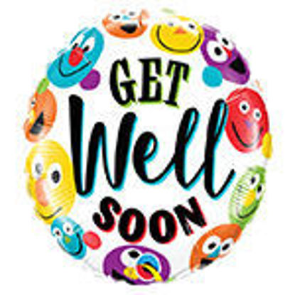 Picture of Get Well Soon Smiley