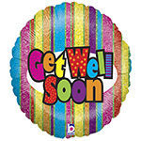 Picture of Get Well Soon Stripes