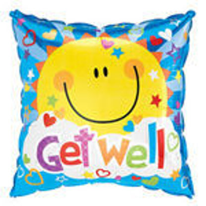 Picture of Get Well Square Smile