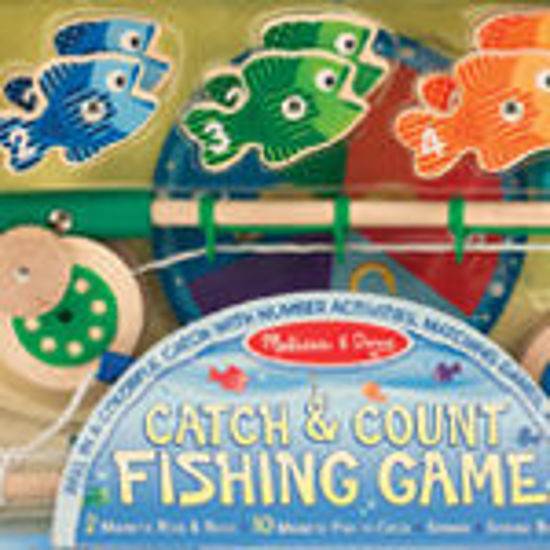 Picture of Catch and Count Magnetic Fishing Game