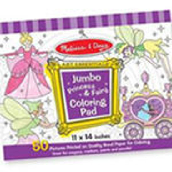 Picture of Coloring Pad and Colors - Purple