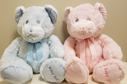 Picture of Soft Pink or Blue Bear