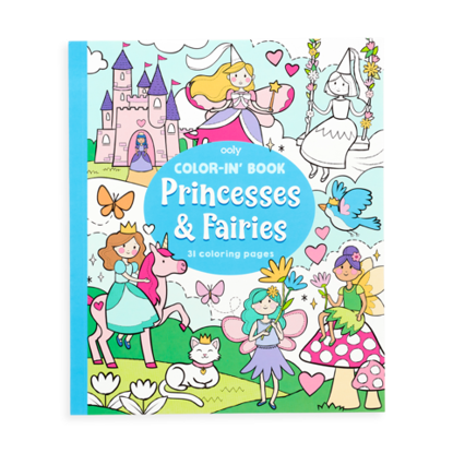 Princess & Fairies Color Book