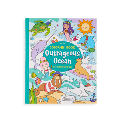 Outrageous Ocean Color In Book