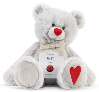 July Birthstone Bear