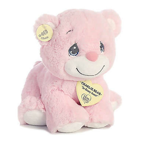 Precious Moments Charlie Bear Pink