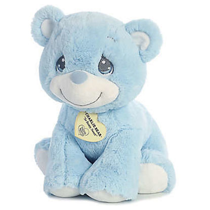 Precious Moments Charlie Bear Blue