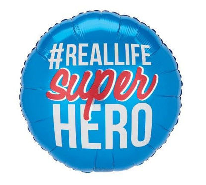 Real Life Super Hero Balloon