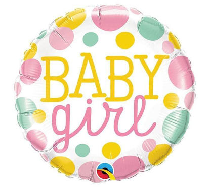 baby girl dots