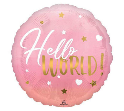 Baby Hello World Pink