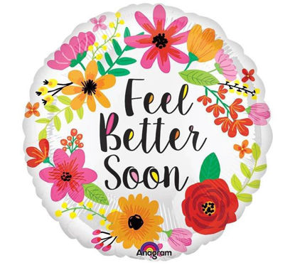 Feel Better Soon Floral Wreath