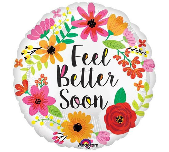 Feel Better Soon Floral Wreath