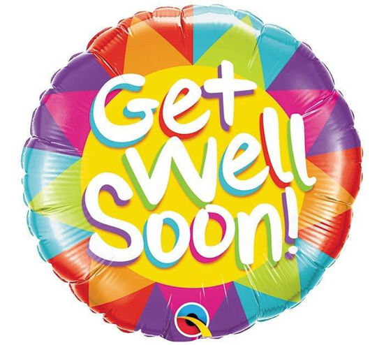 Get well soon colorful