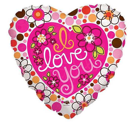 I Love you dots