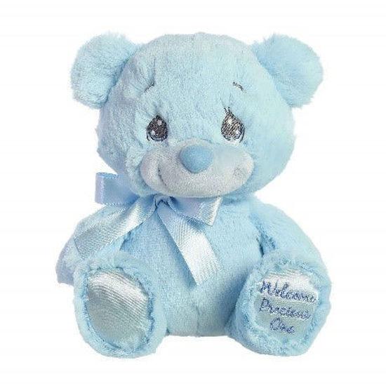 Precious Moments Welcome Charlie Bear Blue